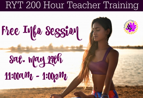 Meet the trainer for Yoga teacher training, 27-May 2017
