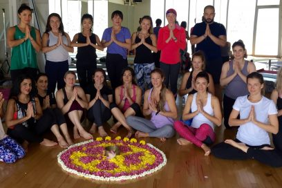 Yoga teacher training, Weekend 1, Sep 2017